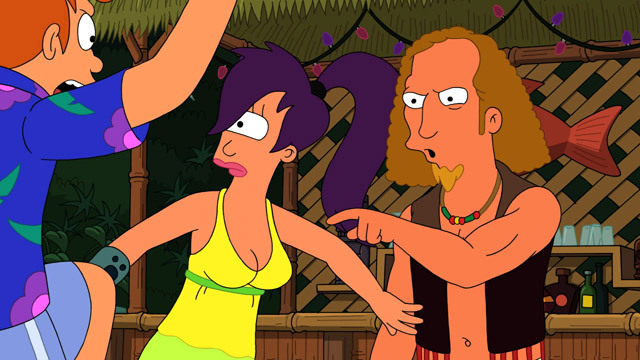 Fry and Leela's Big Fling