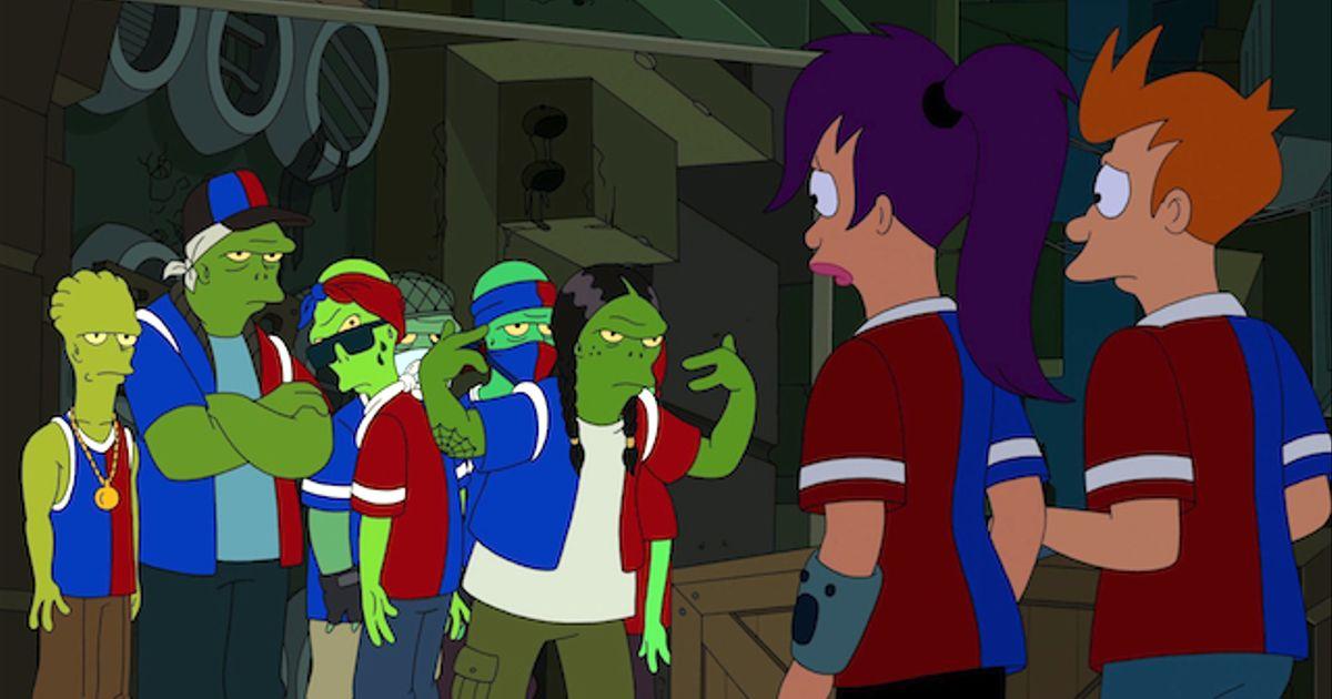 Bot Jacked Futurama Video Clip Comedy Central