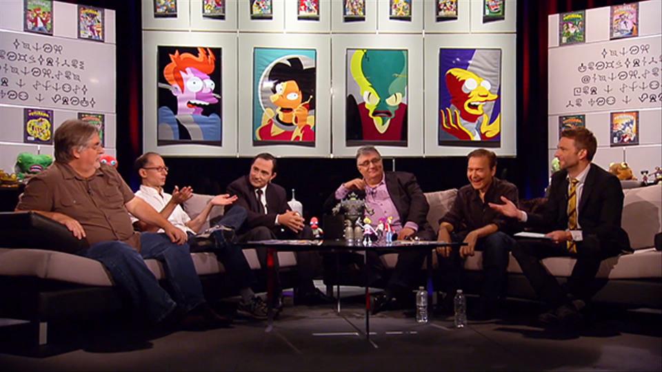 Futurama Live! with Moderator Chris Hardwick