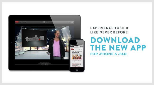 Homepage: Large Promo 06/18/2013 (Manual) [Tosh App]