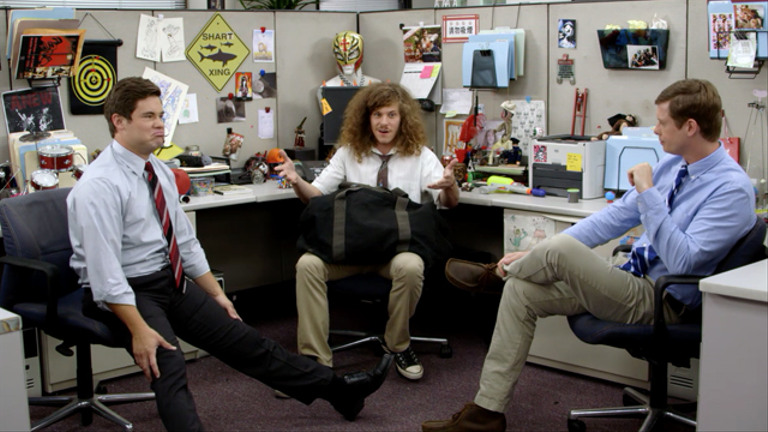 WORKAHOLICS - THE GUYS START A BAND