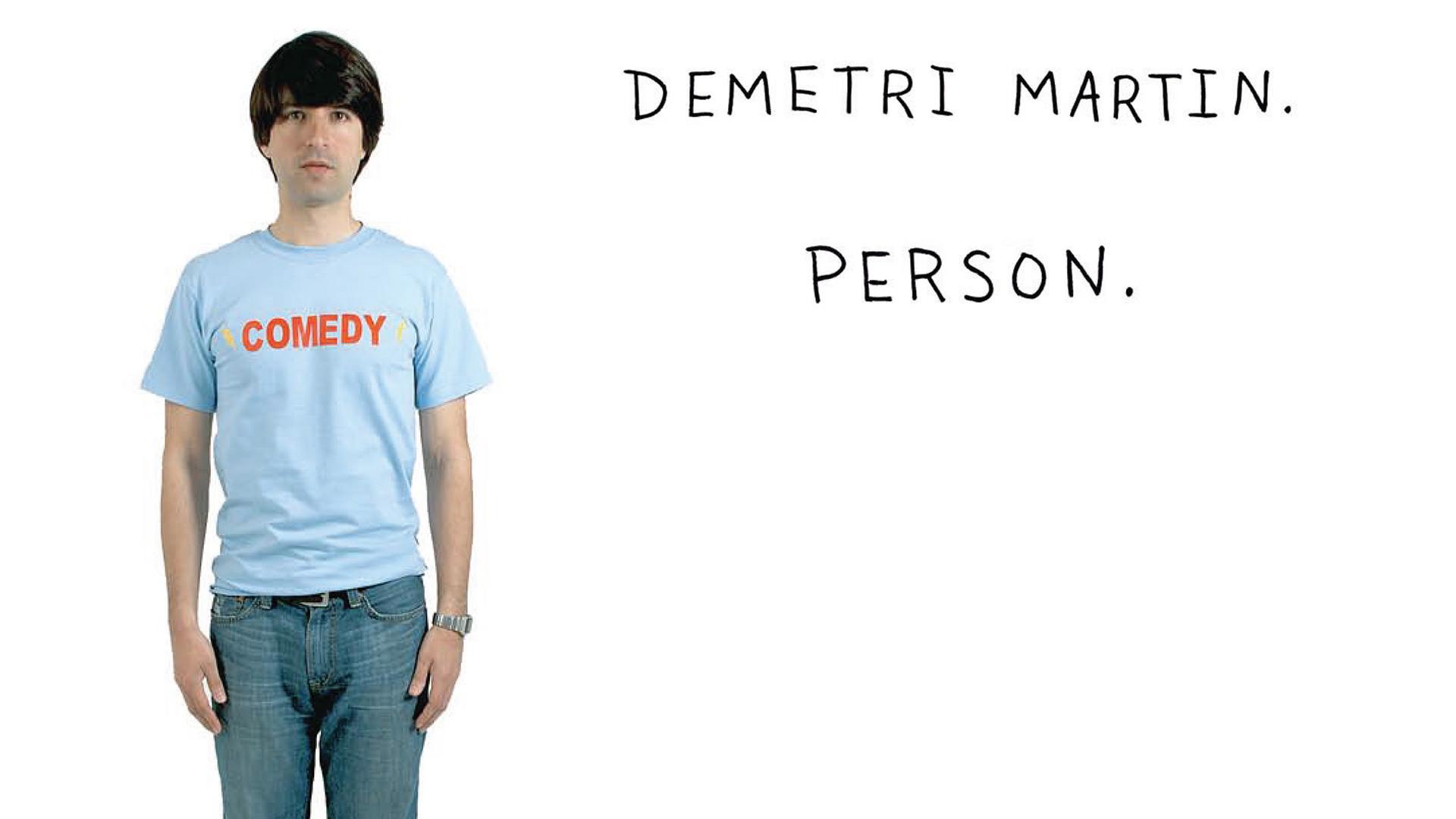 Demetri Martin. Person.