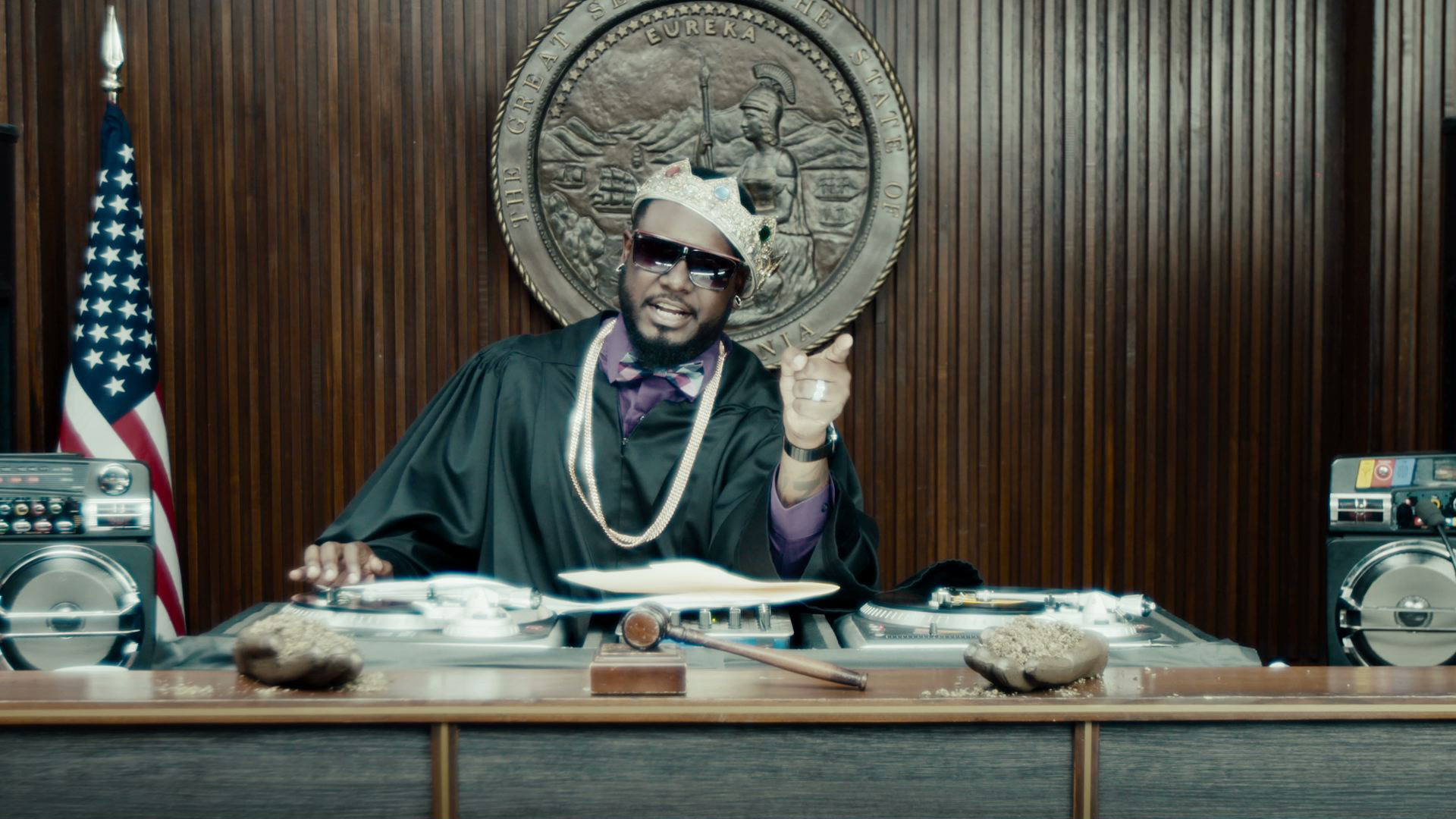 HIP-HOP COURTROOM - THE COURT WHERE THE LAWS OF HIP HOP REIGN SUPREME