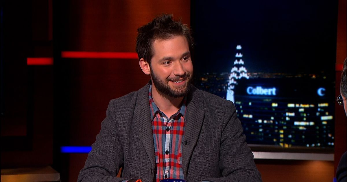 Alexis Ohanian The Colbert Report Video Clip Comedy