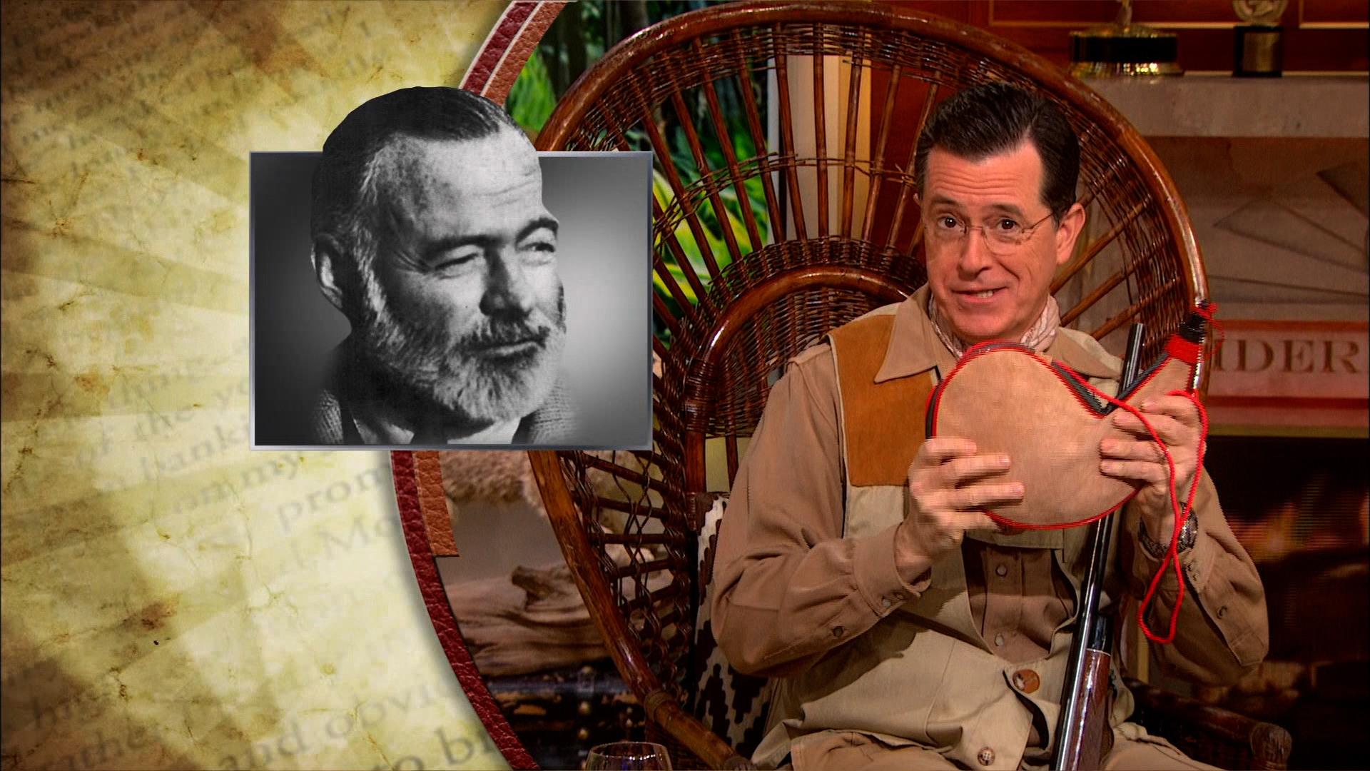January 21, 2014 - Michael Chabon & Mariel Hemingway