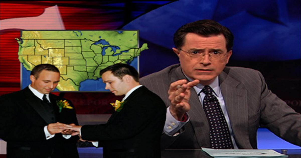 Colbert Gay Marriage Ad 69