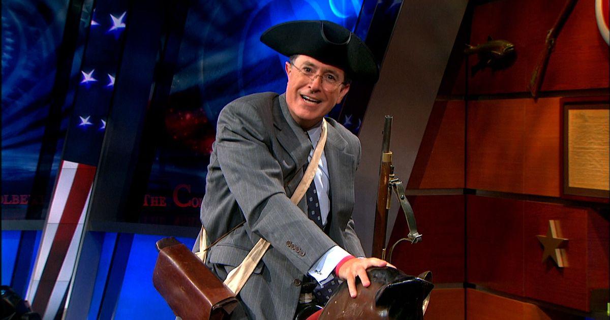 Paul Revere S Famous Ride The Colbert Report Video Clip