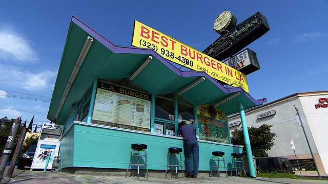 The Best Burger in Los Angeles