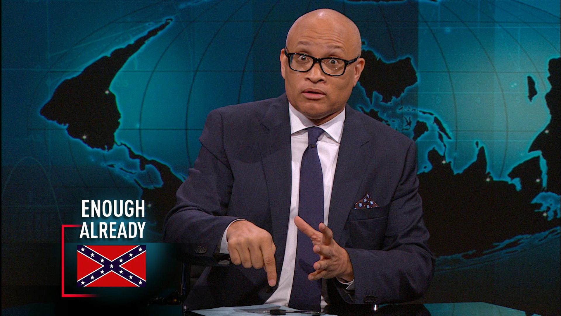 June 22, 2015 - Confederate Flag Battle in South Carolina