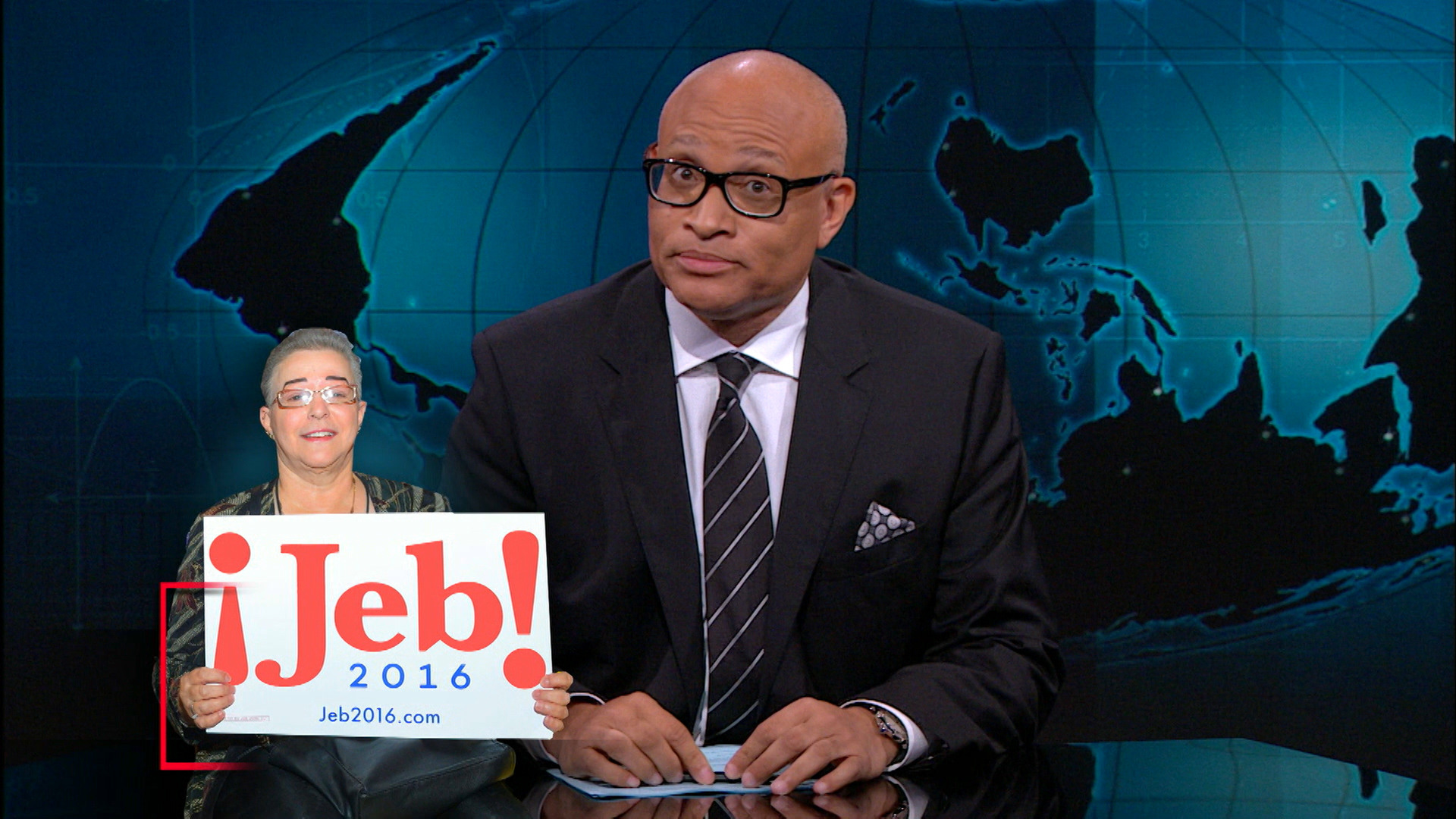 August 13, 2015 - Jeb Bush, Bernie Sanders & Hillary Clinton