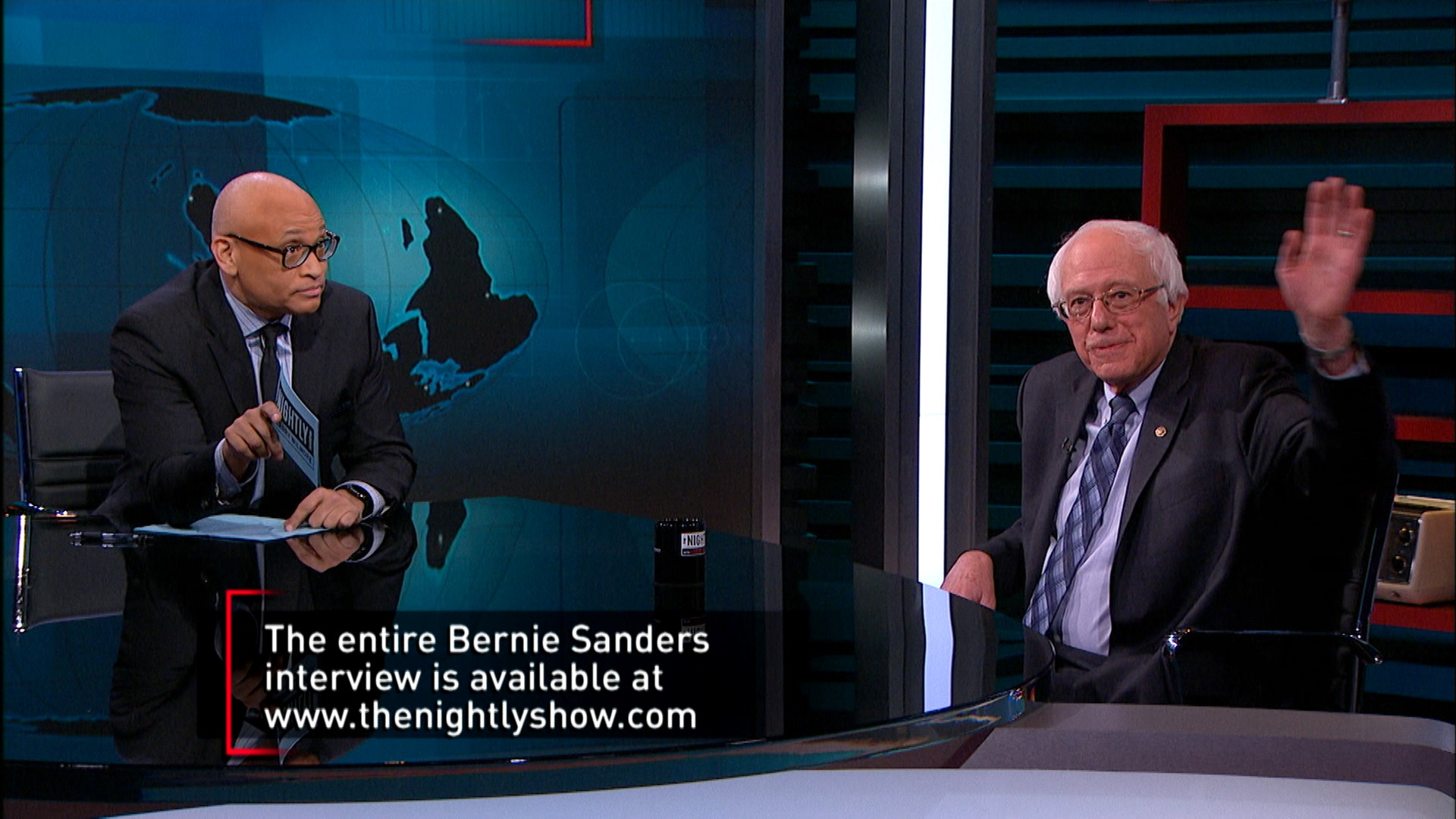 January 5, 2016 - Sexist Donald Trump & Bernie Sanders Chat
