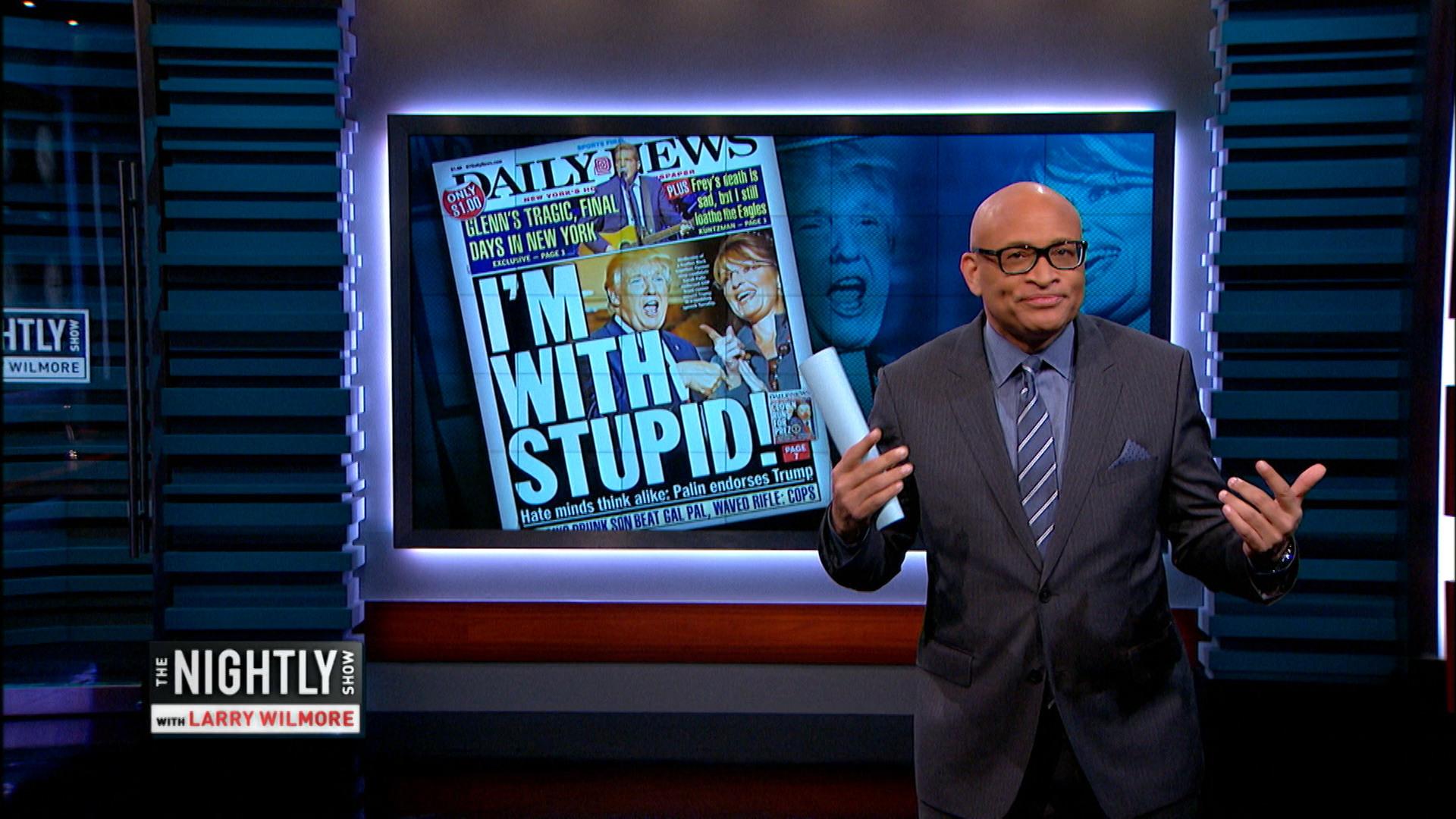 January 20, 2016 - Sarah Palin's Trump Speech & Smart Sex