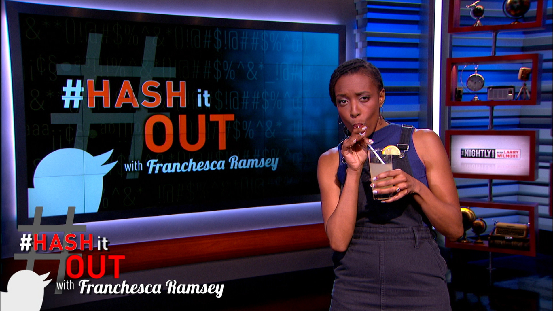 THE NIGHTLY SHOW - FRANCHESCA RAMSEY CLAPS BACK AT PIERS MORGAN OVER BEYONCE'S