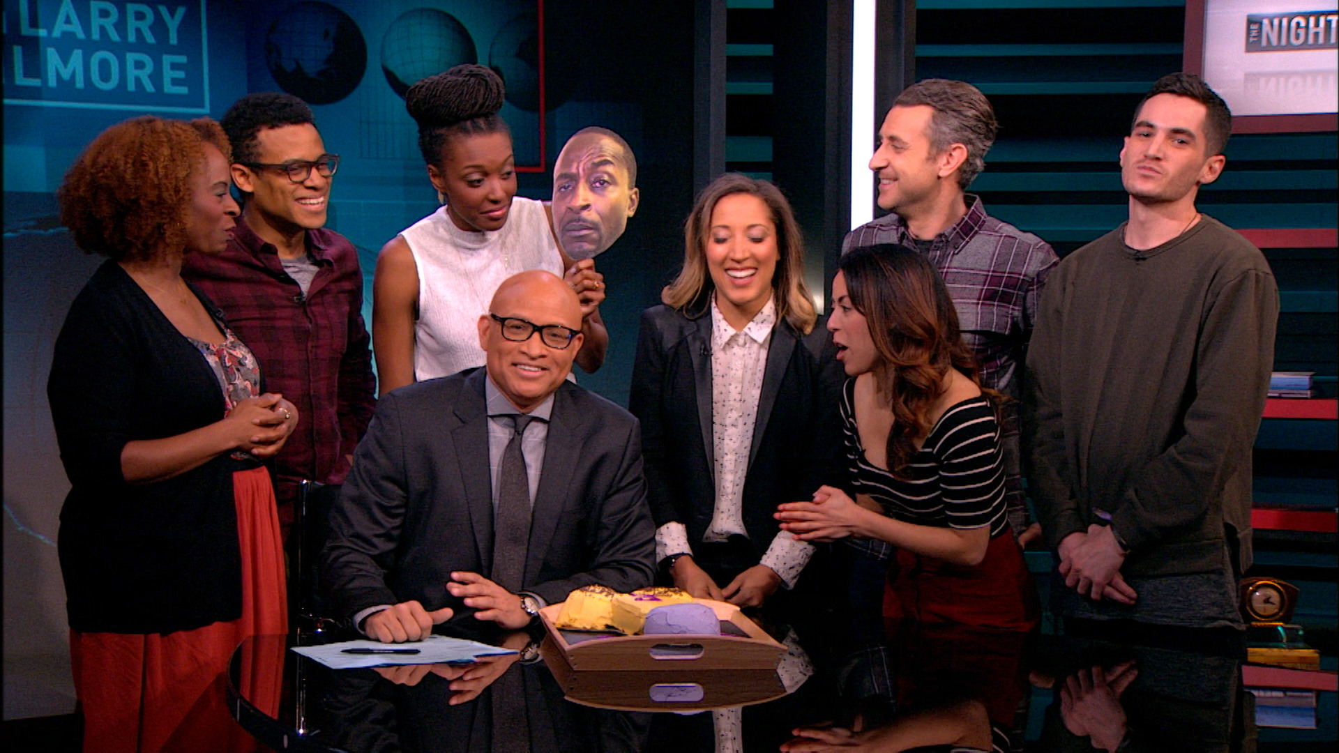 THE NIGHTLY SHOW - LARRY PREPS FOR THE WHITE HOUSE CORRESPONDENTS' DINNER