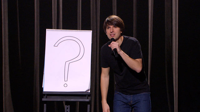 Demetri Martin - Wet Floor Sign