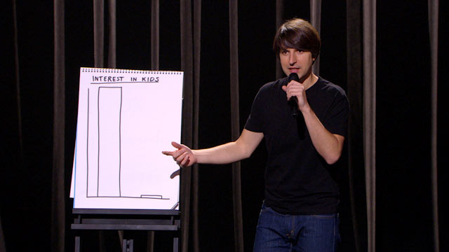 Demetri Martin - Interest in Kids