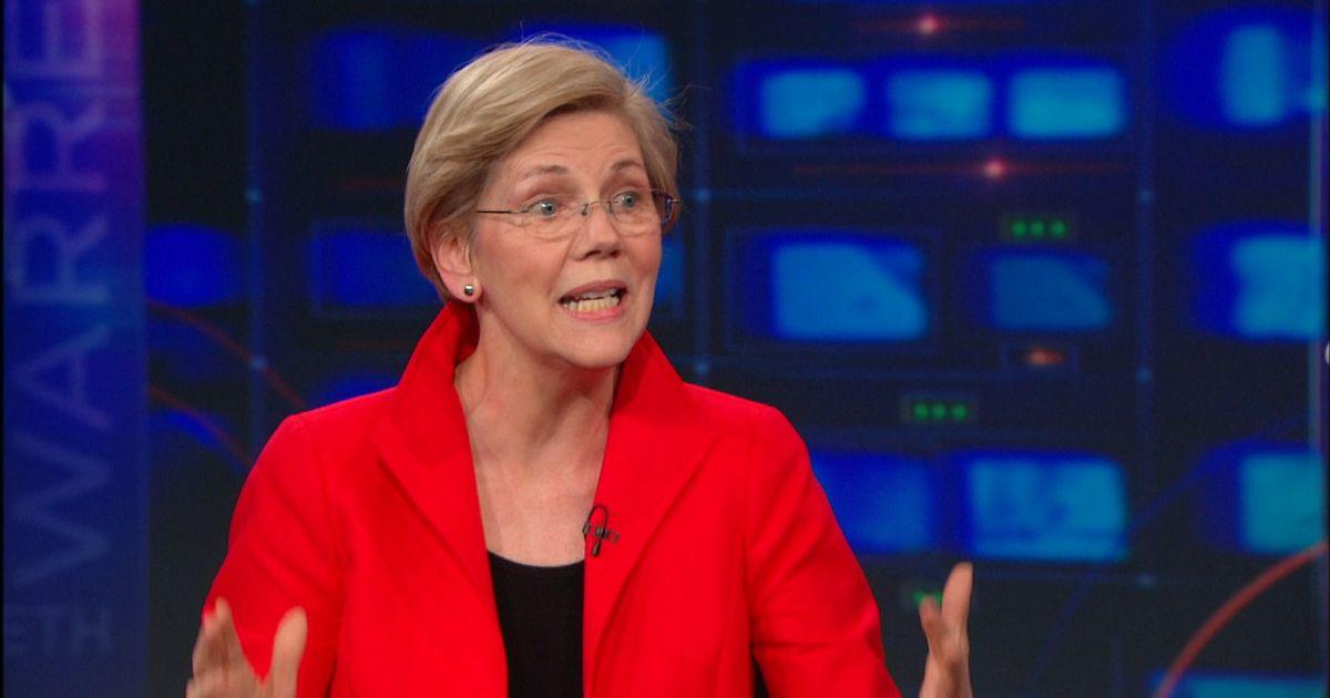 Elizabeth Warren Pt 1 The Daily Show With Jon Stewart