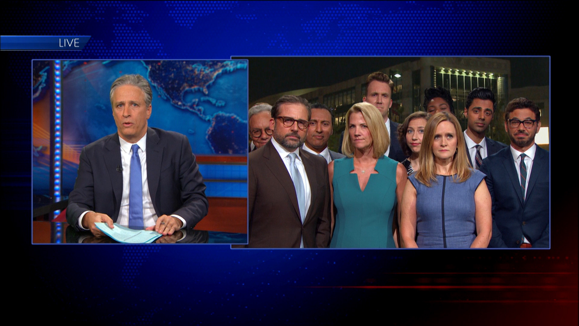 August 6, 2015 - Jon Stewart's Final Episode