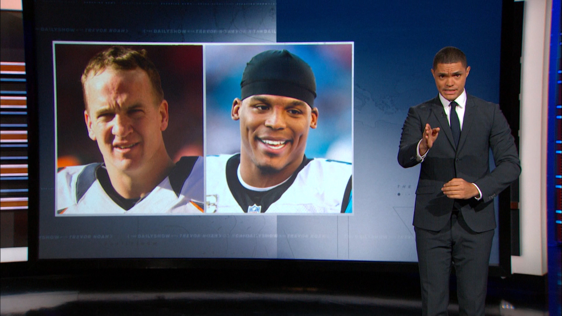 THE DAILY SHOW - THE BIG GAME'S QUARTERBACK MATCHUP