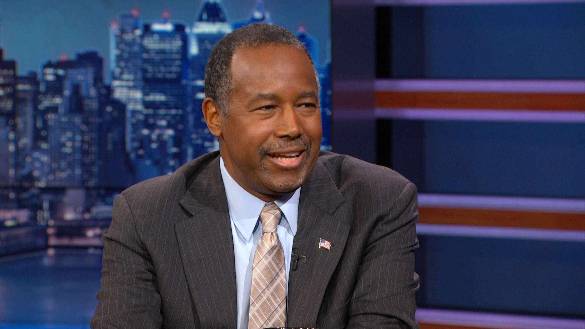 - DR. BEN CARSON EXTENDED INTERVIEW