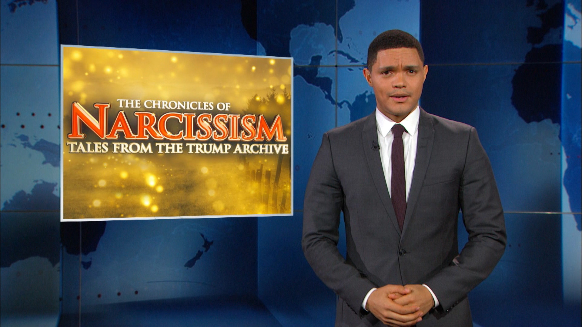 THE DAILY SHOW - DONALD TRUMP'S HISTORY OF CHAUVINISTIC RHETORIC