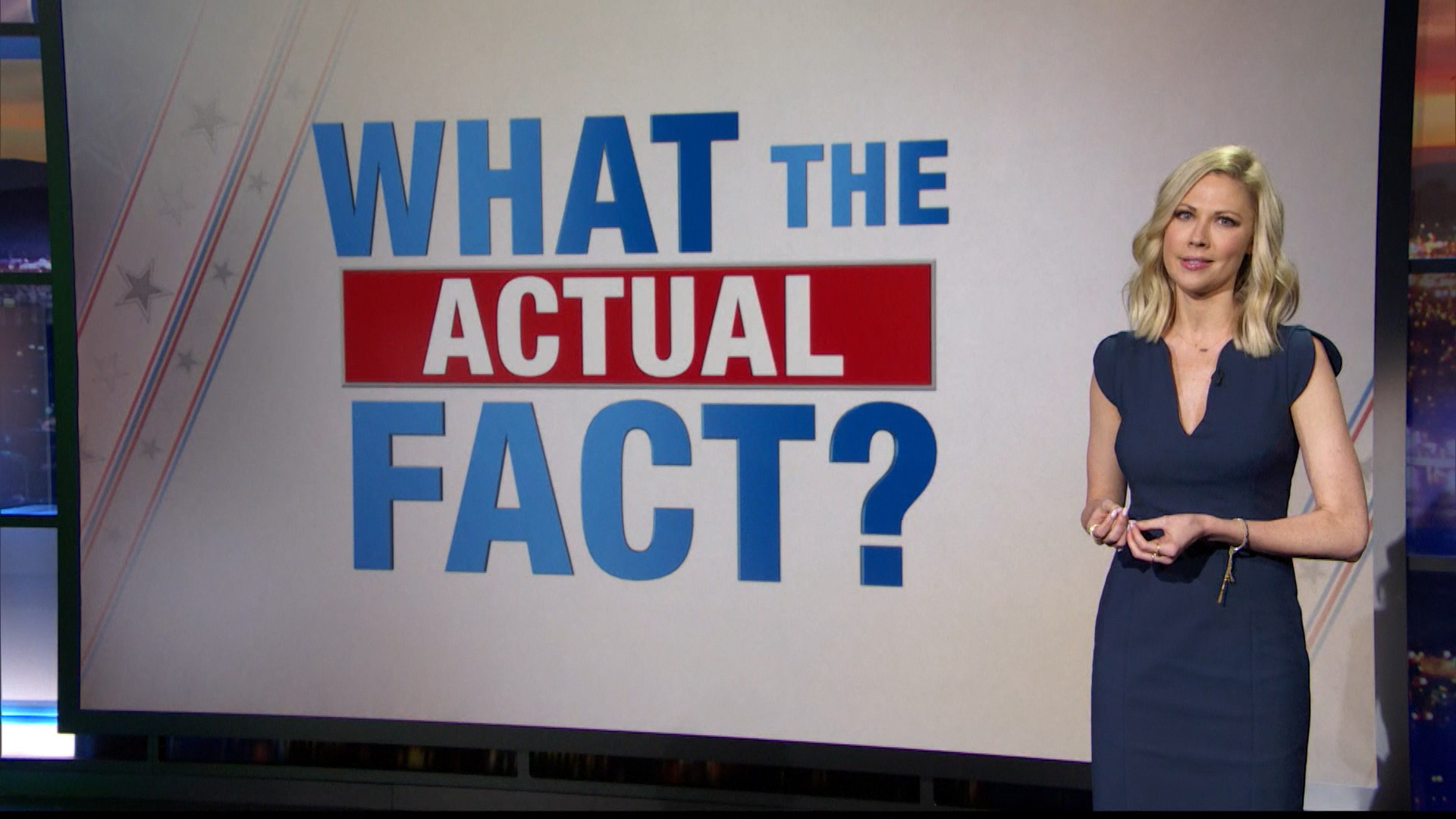 What the Actual Fact? - The DNC's Keynote Speeches