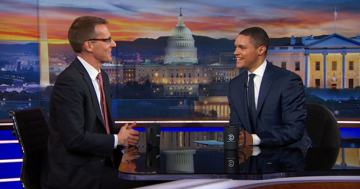 Exclusive David Fahrenthold Extended Interview The Daily