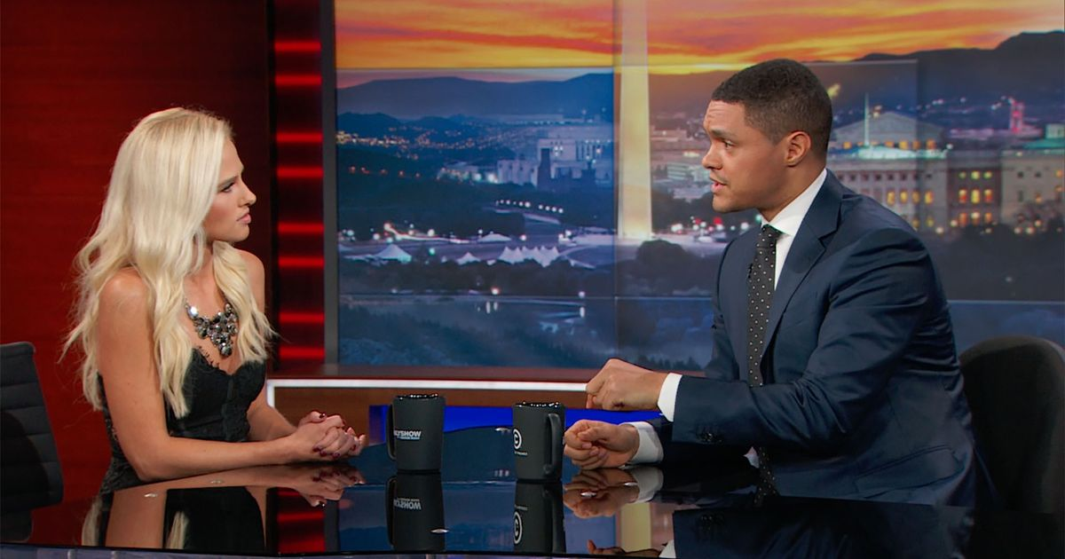 Exclusive - Tomi Lahren Extended Interview-The Daily Show with Trevor Noah - Video Clip