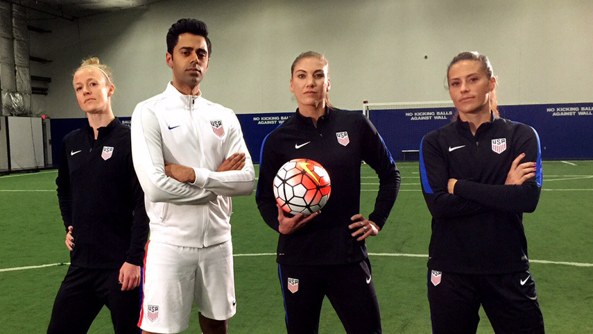- American Soccer's Gender Wage Gap