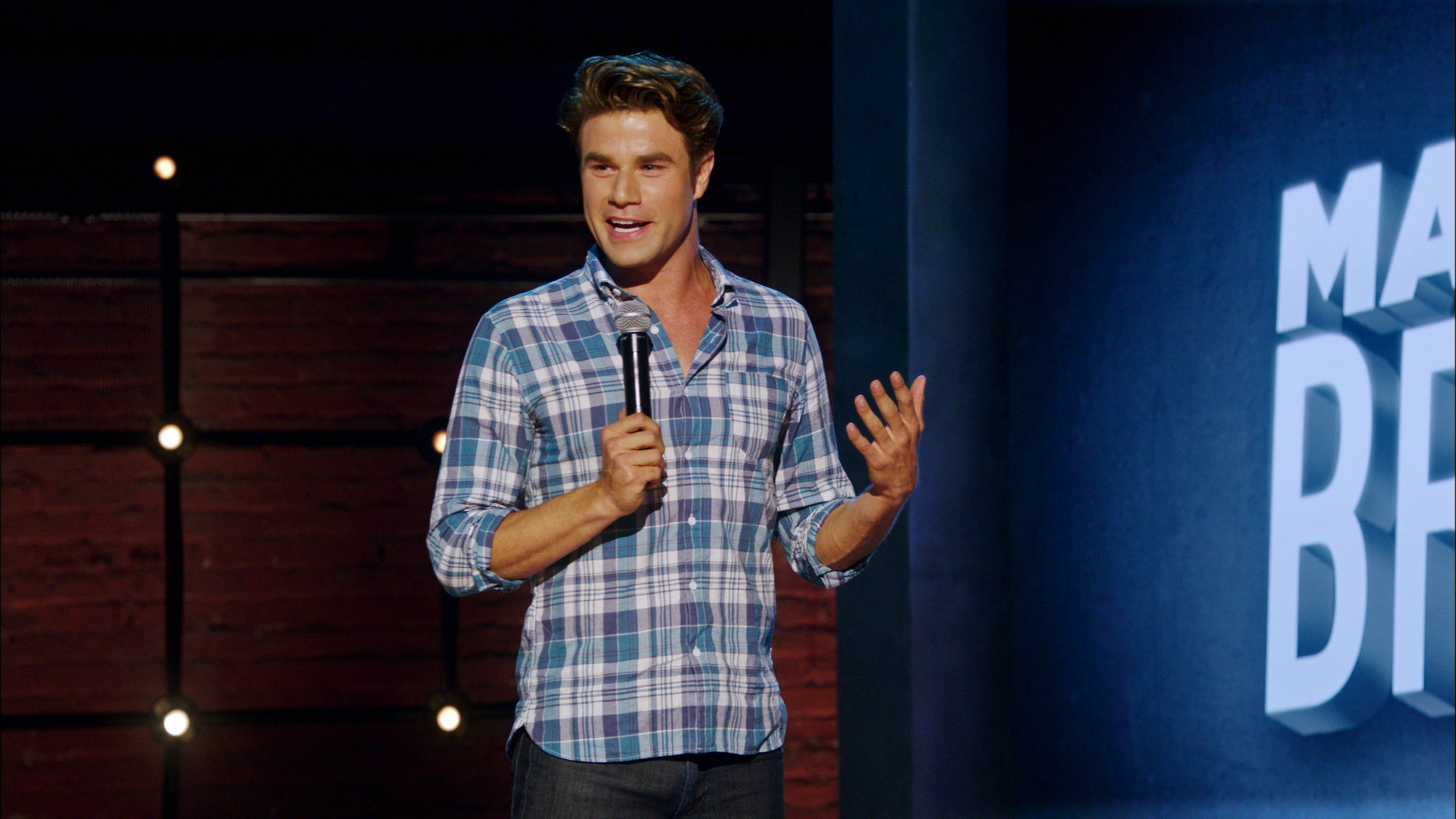 THE HALF HOUR: MATTHEW BROUSSARD - MATTHEW LOOKS LIKE A JERK - AND HE KNOWS IT