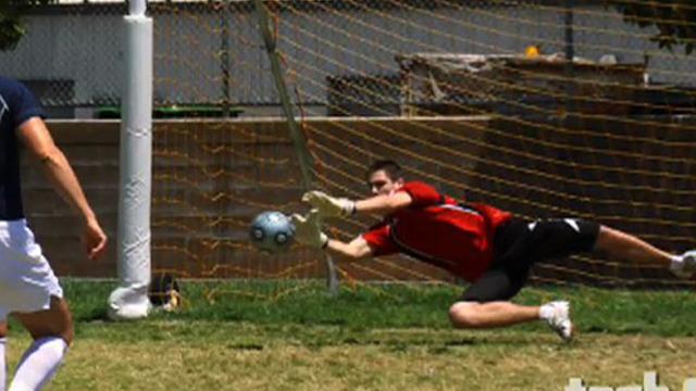 June 30, 2010 - Cartwheeling Goalie