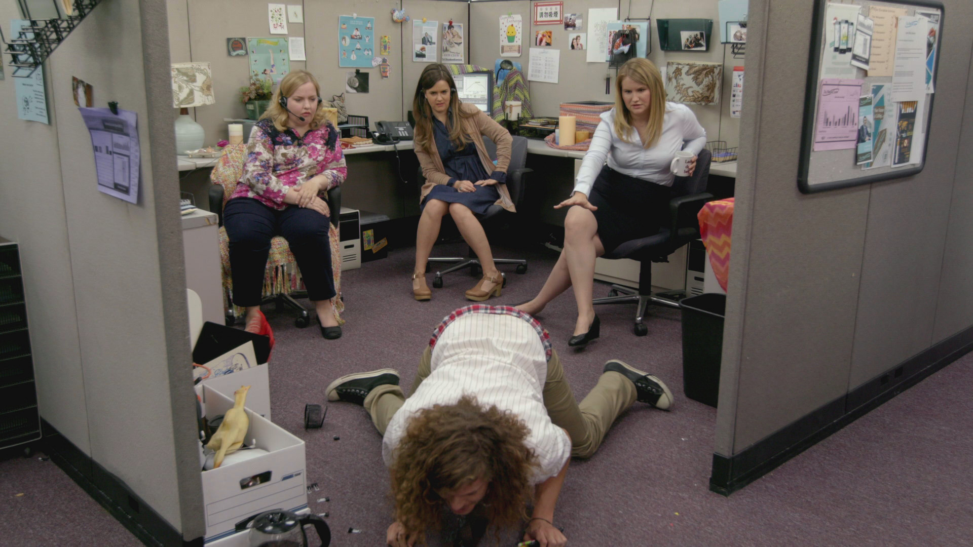 WORKAHOLICS - JILLIAN MAKES BLAKE HER BITCH