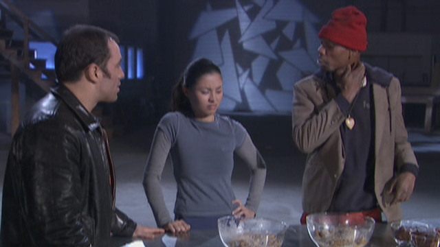 Wayne Brady & Tyrone Biggums's Fear Factor